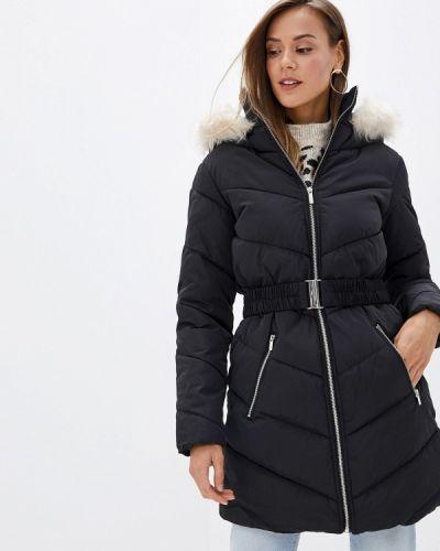 Зимняя куртка утепленная черная Dorothy Perkins