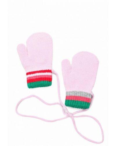 Розовые варежки United Colors Of Benetton