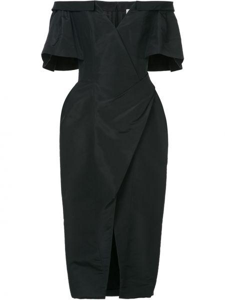 Sukienka mini codzienna z jedwabiu Carolina Herrera