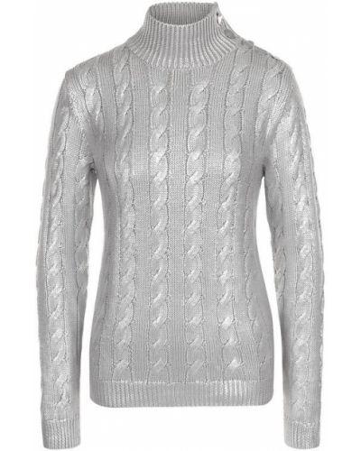 Водолазка серебряного цвета Ralph Lauren