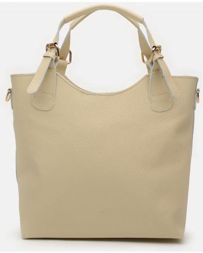 Кожаная сумка - бежевая Palmera