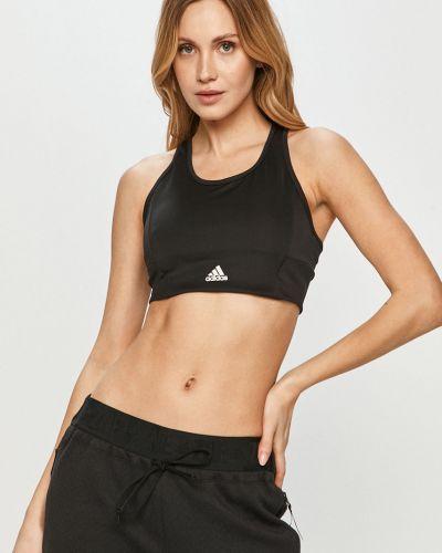 Czarny biustonosz sportowy Adidas