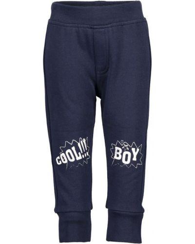 Синие спортивные брюки с поясом Blue Seven