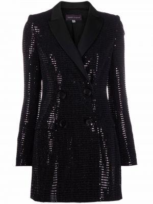 Пиджак двубортный - черный Talbot Runhof