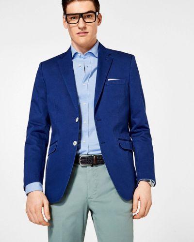 Синий пиджак Pedro Del Hierro