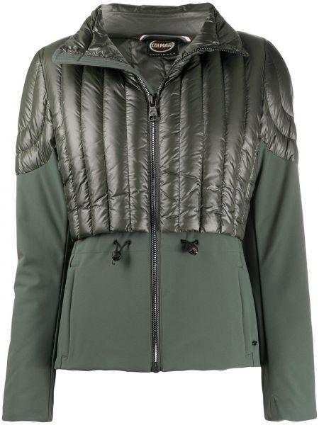 Зеленая куртка на молнии с воротником с карманами Colmar