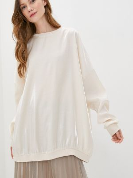 Блузка с длинным рукавом бежевый осенняя Imperial
