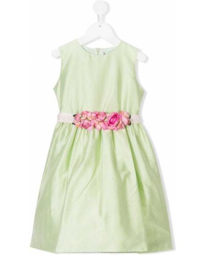 Платье с рукавами без рукавов зеленый Lesy