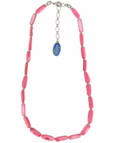 Ожерелье с жемчугом розовый Nature Bijoux