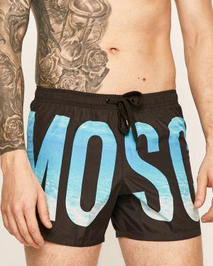 Czarne szorty Moschino Underwear