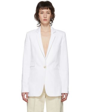 Пиджак в полоску льняной Ann Demeulemeester
