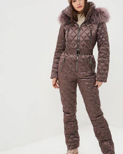 Брючный комбинезон коричневый Conso Wear