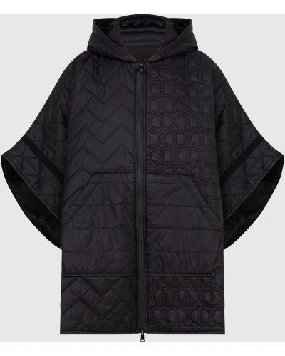 Стеганая куртка - черная Twin-set