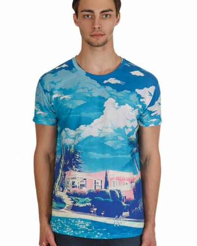 Голубая футболка Fusion