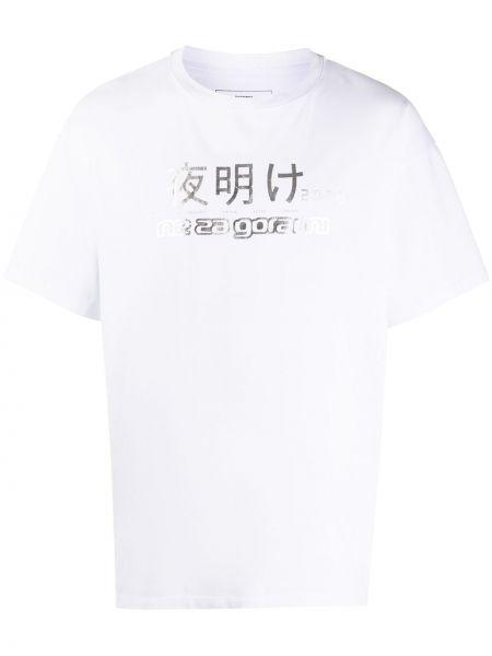 Bawełna bawełna biały koszula krótkie z krótkim rękawem krótkie rękawy Rassvet