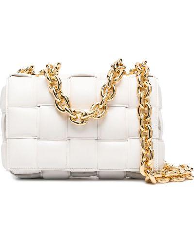 Biały złoty łańcuch ze złota Bottega Veneta