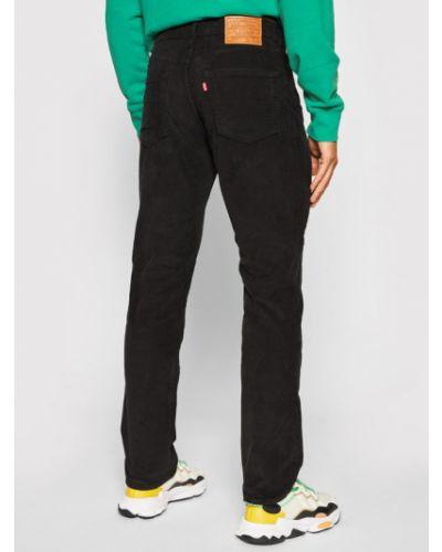 Czarne spodnie materiałowe Levi's