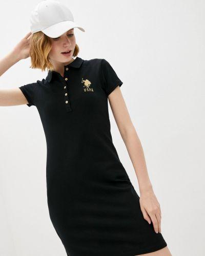 Платье - черное U.s. Polo Assn.