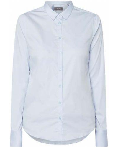 Bluzka z wiskozy - niebieska Mos Mosh