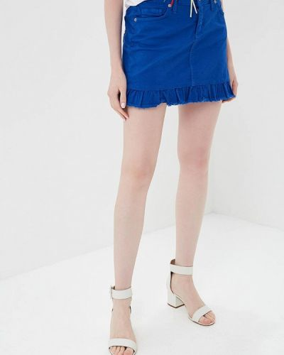 Синяя юбка Rinascimento