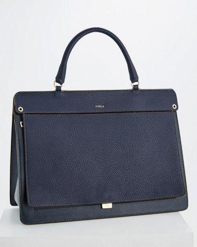 Синяя сумка Furla