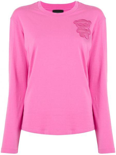 Топ розовый футбольный Emporio Armani