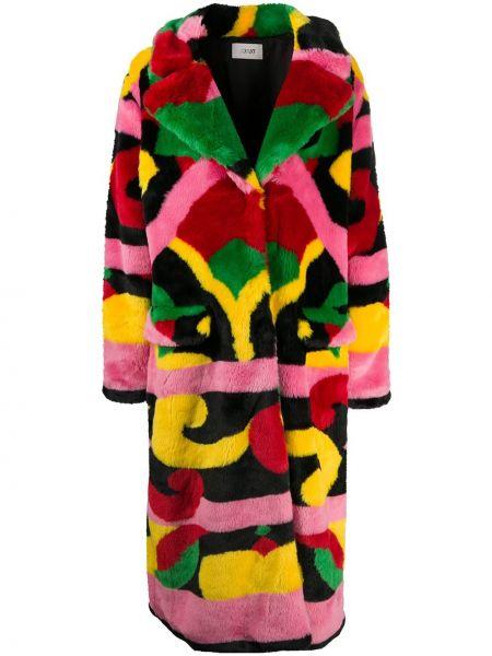 Płaszcz z akrylu z długimi rękawami z printem Kirin