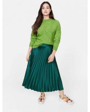 Плиссированная юбка миди Mango