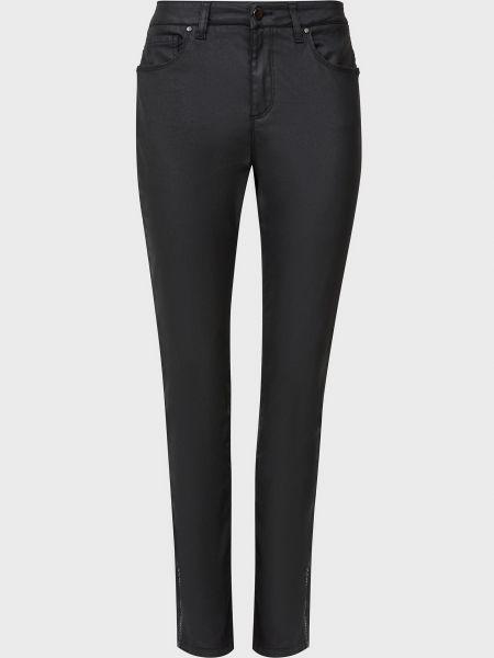 Хлопковые черные брюки D.exterior