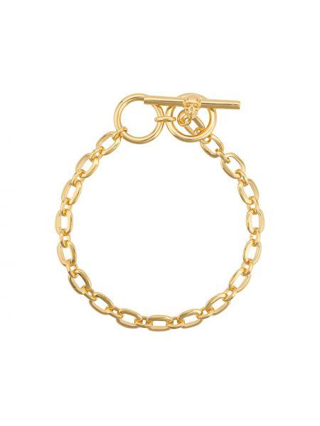 Bransoletka łańcuch srebrna Northskull