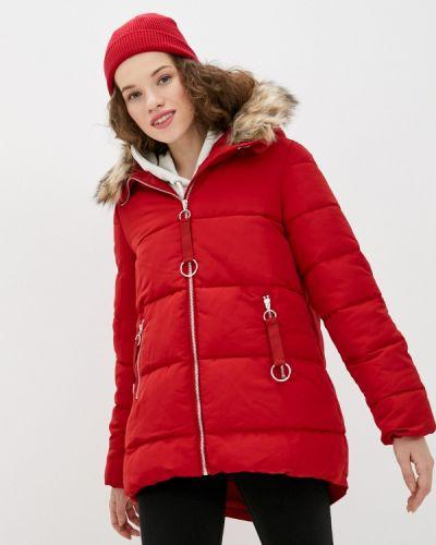 Утепленная куртка - красная Top Secret