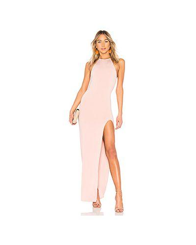 Вечернее платье с американской проймой на молнии Nbd