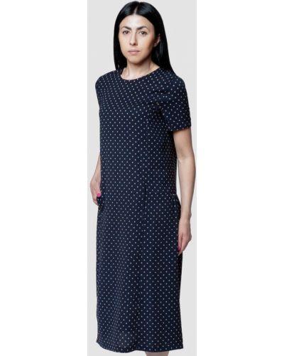 Повседневное синее повседневное платье Arber
