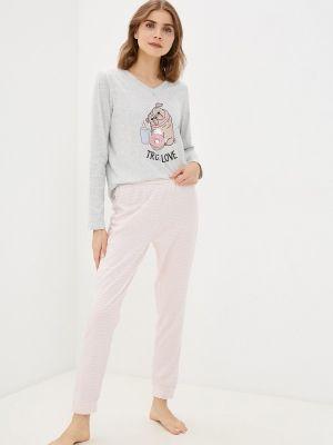 Пижамная розовая пижама Nymos
