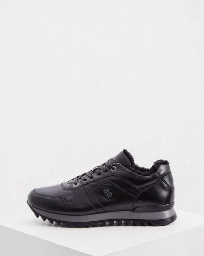 Черные зимние кроссовки Bogner