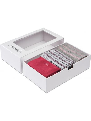 Różowe skarpety Calvin Klein