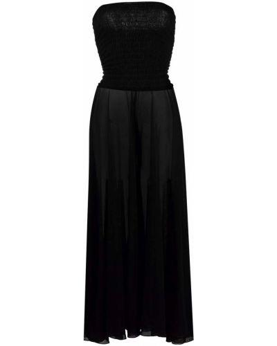 Пляжное платье макси - черное Missoni