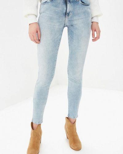 Голубые джинсы-скинни Guess Jeans