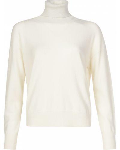 Кашемировый свитер - белый Peruffo