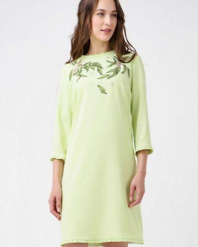 Вечернее платье зеленый Ricamare