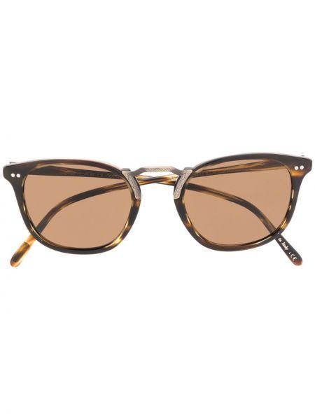 Солнцезащитные очки кошачий глаз оливковый Oliver Peoples