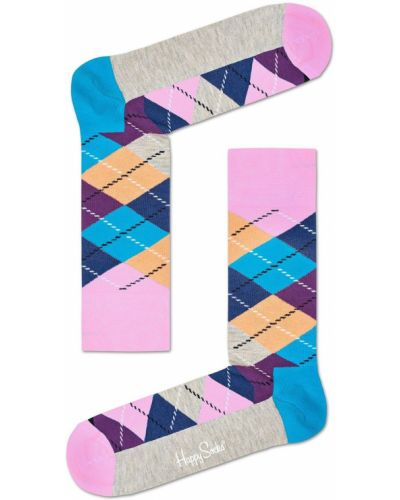 Носки розовый с узором Happy Socks