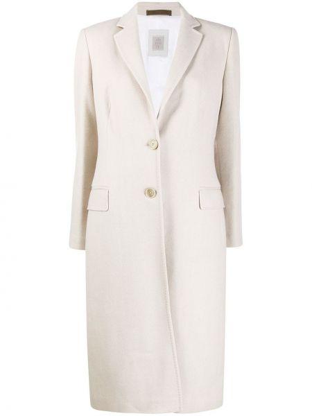 Однобортное пальто с капюшоном на пуговицах Eleventy