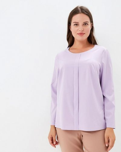 Фиолетовая блузка Lina