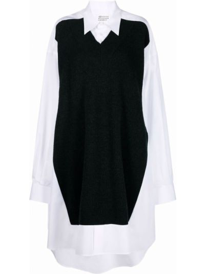Платье рубашка - белое Maison Margiela