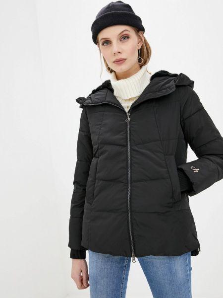 Зимняя куртка утепленная черная Deha