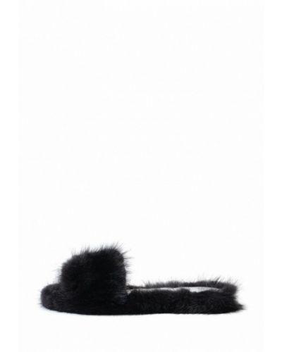 Домашние тапочки черные Litvin