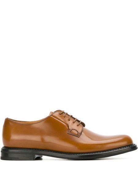 Кожаные туфли на шнуровке Church's