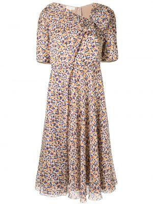 Платье мини миди в горошек Delpozo