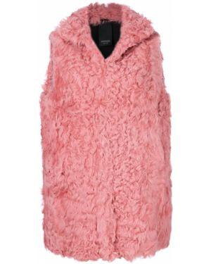 Розовая жилетка с подкладкой Numerootto